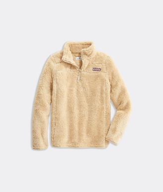 Vineyard Vines Girls' Plush Teddy Classic Shep Shirt