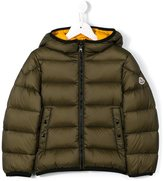 Moncler hooded down jacket - kids - Feather Down/Polyamide - 4 yrs