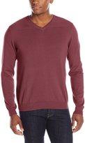 Oxford NY Men's V-Neck Cotton Sweater