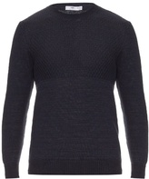 Inis MeÁin Floating Moss Linen-knit Sweater