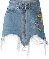 Marcelo Burlon County of Milan 'Amine' mini skirt - women - Cotton - 25