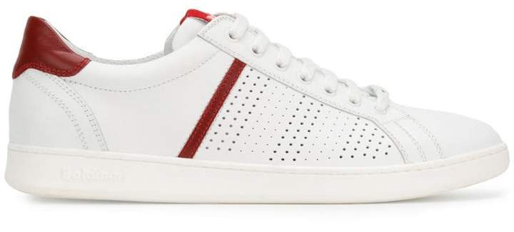 Baldinini contrast low-top sneakers
