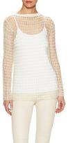 Helmut Lang Hand Crochet Crewneck Sweater