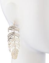 Kendra Scott Farrah Feather Earrings