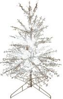 David Jones Tree-91cm Pre Lit Stick 120 LED Bulb Tree White