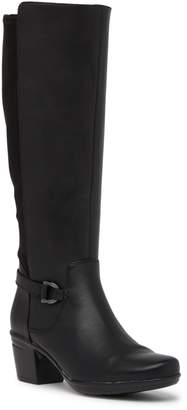 Clarks Emslie Leather Knee-High Boot