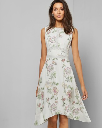 Ted Baker Handkerchief Hem Dress