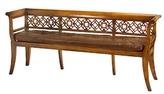 John-Richard Collection Fretwork Bench