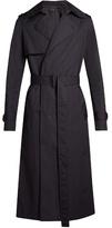 Balenciaga Long-line Water-repellent Trench Coat