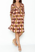 Maliparmi Multi Patterned Dress