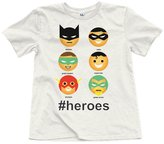 Junk Food Clothing Boy's #Heroes Tee - Tusk