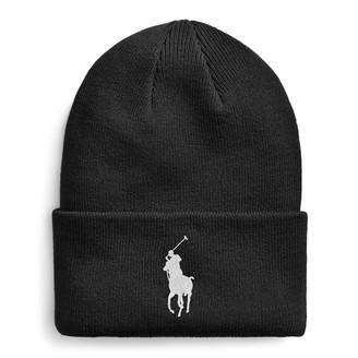 Ralph Lauren Big Pony Ribbed Cotton Hat