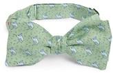 Vineyard Vines Men's Swordfish Print Silk Bow Tie