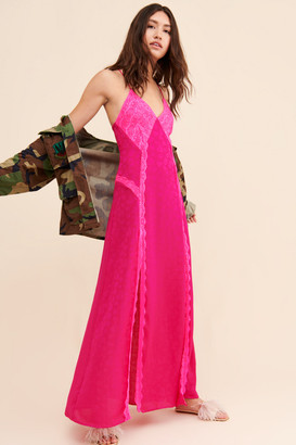 For Love & Lemons Laced-Up Maxi