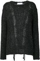 IRO open knit sweater