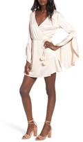 Majorelle Women's Hex Wrap Minidress