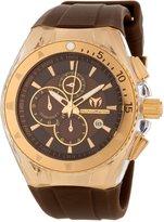 Technomarine Women's 111011 Cruise Original Star Chronograph Chocolate Silicone Watch