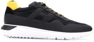 Hogan interactive 3 lace-up trainers