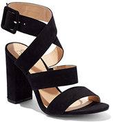 New York & Co. Strappy Faux-Suede Sandal