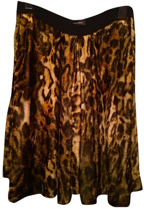Isabel Marant Camel Velvet Skirt for Women
