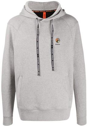 Raeburn Logo Embroidered Long-Sleeved Hoodie