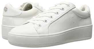 Steve Madden Bertie (White) Women's Lace up casual Shoes