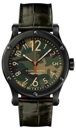 Ralph Lauren 45MM Chronometer Steel