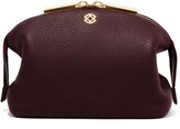 Dagne Dover Large Lola Leather Cosmetics Pouch