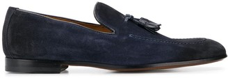 Doucal's Tassel Suede Loafers