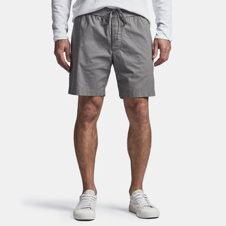 James Perse Lightweight Printed Flannel Short