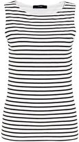Hallhuber Basic jersey stripe top