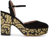 Tabitha Simmons Brocade Maya 120 platform heels