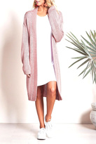 Lovers + Friends Pink Cozy Cardigan