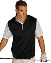 Antigua Men's Heavy Interlock 1/4-Zip Golf Vest