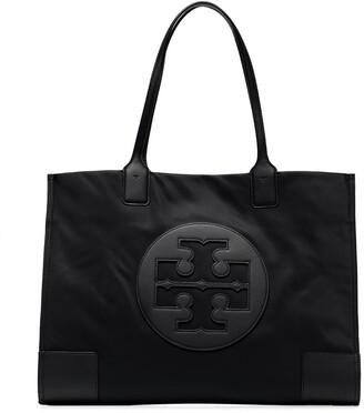Tory Burch Raised Logo Nylon Tote Bag