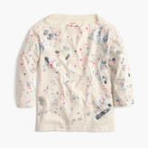 J.Crew Girls' splatter paint T-shirt