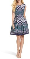 Vince Camuto Women's Fit & Flare Dress