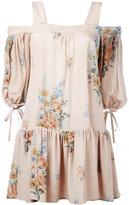 Alexander McQueen floral print dress - women - Silk - 38