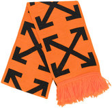 Off-White arrows knitted scarf - unisex - Acrylic - One Size