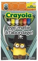 Crayola 8ct Minions Crayons - Eye, Matie