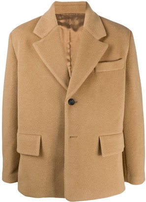 Prada Oversized Notch Lapels Jacket