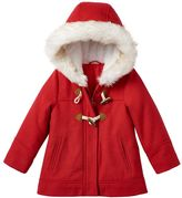 Carter's Toddler Girl Red Toggle Coat