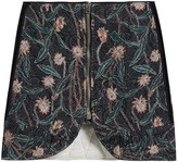 Isabel Marant Prickly floral-print quilted-cotton skirt