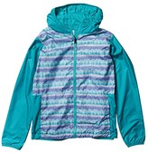 Columbia Kids Pixel Grabber Reversible (Little Kids/Big Kids) (African Violet Striped Peak) Kid's Clothing