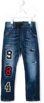 Diesel varsity patch jeans