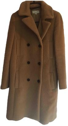 Paul & Joe Camel Wool Coat for Women