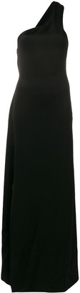 Lanvin One-Shoulder Jersey Dress