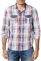 Buffalo David Bitton Sicaf Textured Plaid Shirt