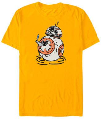 Star Wars Men Episode Ix Cartoon Bb-8 T-shirt