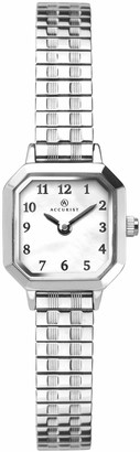 Accurist Womens Stainless Steel Japanese Quartz Watch With Expanding Bracelet